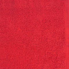 Gładki ręcznik kąpielowy czerwony 100x150 cm - 100 X 150 cm - czerwony 4
