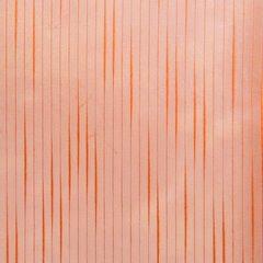 Subtelna zasłona do salonu gładka pomarańczowa na taśmie 140x250cm - 140 X 250 cm - ceglany 2