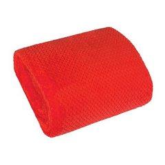 Koc miękki i puszysty jednokolorowy czerwony 170x210 cm - 170x210 - czerwony 3