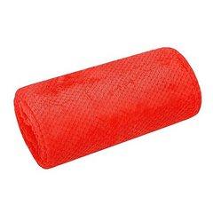 Koc miękki i puszysty jednokolorowy na fotel czerwony 70x140 cm - 70 X 140 cm - czerwony 3