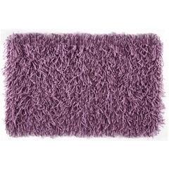 Dywanik z sznurkowym włosiem miękki fioletowy 50x70cm - 50 X 70 cm - fioletowy 2