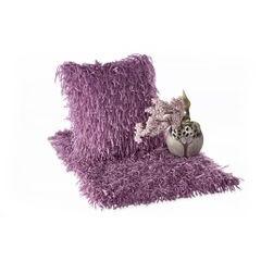 Dywanik z sznurkowym włosiem miękki fioletowy 50x70cm - 50 X 70 cm - fioletowy 3