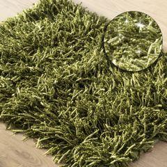Dywanik z sznurkowym włosiem miękki zielony 50x70cm - 50 X 70 cm - zielony 1