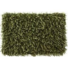 Dywanik z sznurkowym włosiem miękki zielony 50x70cm - 50 X 70 cm - zielony 2