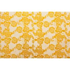 Dekoracyjna podkładka stołowa z nadrukiem złote róże 30x44 cm - 30 X 44 cm - złoty 1