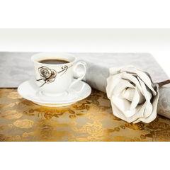 Dekoracyjna podkładka stołowa z nadrukiem złote róże 30x44 cm - 30 X 44 cm - złoty 3