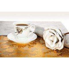 Dekoracyjna podkładka stołowa z nadrukiem złote róże 30x44 cm - 30 X 44 cm - złoty 4