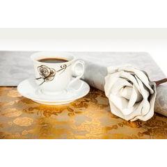 Dekoracyjna podkładka stołowa z nadrukiem złote róże 30x44 cm - 30 X 44 cm - złoty 2