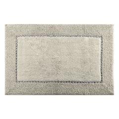 Miękki dywanik łazienkowy z kryształami beżowy 60x90 cm - 60 X 90 cm - Beżowy 2