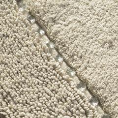 Miękki dywanik łazienkowy z kryształami beżowy 60x90 cm - 60 X 90 cm - Beżowy 3
