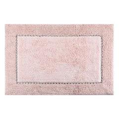 Miękki dywanik łazienkowy z kryształami różowy 75x150cm - 75 X 150 cm - różowy 2