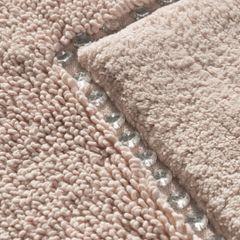 Miękki dywanik łazienkowy z kryształami różowy 75x150cm - 75 X 150 cm - różowy 3