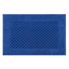 Dywanik bawełna chabrowy 60 x 90 cm - 60 X 90 cm - ciemnoniebieski 2