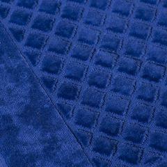 Dywanik bawełna chabrowy 60 x 90 cm - 60 X 90 cm - ciemnoniebieski 3