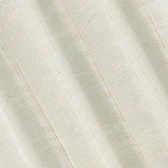 Zasłona w stylu eco subtelne pasy przelotki 140x250cm - 140x250 - naturalny 1