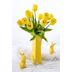 Kwiat TULIPAN ŻÓŁTY 63 cm -  - żółty 2