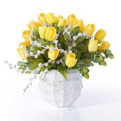 Kwiat TULIPAN ŻÓŁTY 63 cm -  - żółty 3