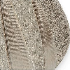 Wazon dekoracyjny jasne złoto elegancki 48 cm - 24 X 11 X 48 cm - jasnozłoty 4