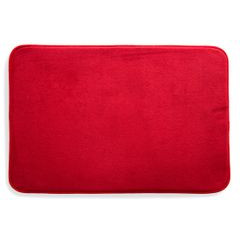 Dywanik gładki łazienkowy czerwony 60x90cm - 60 X 90 cm - czerwony 2