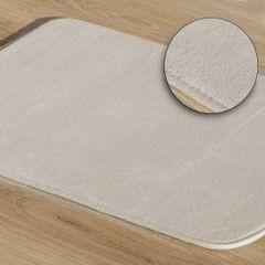 Dywanik gładki łazienkowy beżowy 50x70cm - 50 X 70 cm - beżowy 1