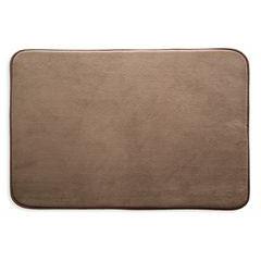 Dywanik gładki łazienkowy brązowy 60x90cm - 60 X 90 cm - brązowy 1