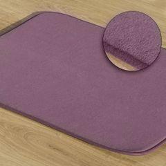 Dywanik gładki łazienkowy fioletowy 50x70cm - 50 X 70 cm - fioletowy 1