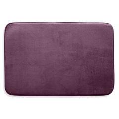 Dywanik gładki łazienkowy fioletowy 60x90cm - 60 X 90 cm - fioletowy 2