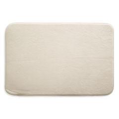Dywanik gładki łazienkowy kremowy 50x70cm - 50 X 70 cm - ecru 1