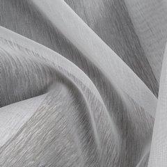 Biała FIRANA o STRUKTURZE DESZCZYKU przelotki 140x250 cm - 140x250 - biały 2
