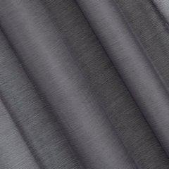 Firana gotowa gładka grafitowa na przelotkach 140x250cm - 140 X 250 cm - grafitowy 3