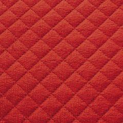 Narzuta dwustronna czerwony beż 230 x 260 cm - 230 X 260 cm - czerwony/jasnobrązowy 4