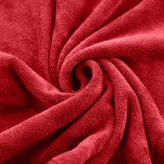 AMY CZERWONY RĘCZNIK Z MIKROFIBRY SZYBKOSCHNĄCY 50x90 cm EUROFIRANY - 50 X 90 cm - czerwony 5