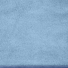 AMY NIEBIESKI RĘCZNIK Z MIKROFIBRY SZYBKOSCHNĄCY 70x140 cm EUROFIRANY - 70 X 140 cm - niebieski 4