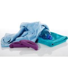 AMY NIEBIESKI RĘCZNIK Z MIKROFIBRY SZYBKOSCHNĄCY 70x140 cm EUROFIRANY - 70 X 140 cm - niebieski 6