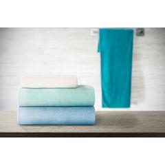 Ręcznik z mikrofibry szybkoschnący jasnoturkusowy 50x90cm  - 50 X 90 cm - turkusowy 3