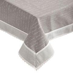 Obrus 100% bawełna stalowy 150 x 220 cm - 150 X 220 cm - stalowy 1
