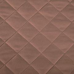 Narzuta pikowana w kwadraty czekoladowy brąz+poduszka 170x210cm - 170 X 210 cm, 40 X 40 cm - brązowy 9