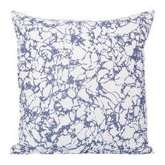 Poszewka ze wzorem marmur biało-fioletowy 40 x 40 cm - 40 X 40 cm - biały/fioletowy 1