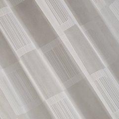 Minimalistyczna biała zasłona na taśmie tunel 140x250 cm - 140 X 250 cm - biały 1
