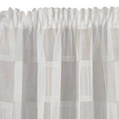 Minimalistyczna biała zasłona na taśmie tunel 140x250 cm - 140 X 250 cm - biały 2