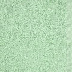 Ręcznik bawełniany gładki miętowy 50x90 cm - 50 X 90 cm - miętowy 8