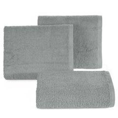 Ręcznik bawełniany gładki stalowy 30x50 cm - 30 X 50 cm - stalowy 1