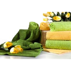 Ręcznik bawełniany gładki stalowy 30x50 cm - 30 X 50 cm - stalowy 3