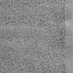 Gładki ręcznik kąpielowy stalowy szary 50x90 cm - 50 X 90 cm - stalowy 8