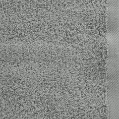 Gładki ręcznik kąpielowy stalowy szary 50x90 cm - 50 X 90 cm - stalowy 4