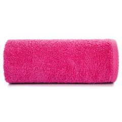 Ręcznik bawełniany gładki amarantowy 30x50 cm - 30 X 50 cm - liliowy 2