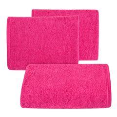 Gładki ręcznik kąpielowy amarantowy 50x90 cm - 50 X 90 cm - liliowy 1