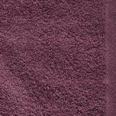 Gładki ręcznik kąpielowy amarantowy 50x90 cm - 50 X 90 cm - liliowy 8