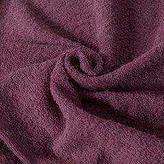 Gładki ręcznik kąpielowy amarantowy 50x90 cm - 50 X 90 cm - liliowy 10