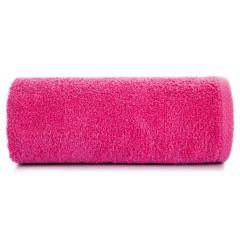 Gładki ręcznik kąpielowy amarantowy 50x90 cm - 50 X 90 cm - liliowy 2